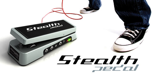 Stealth pedal